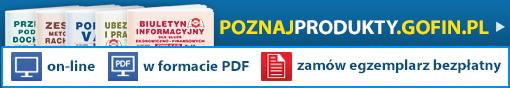 PoznajProdukty.Gofin.pl - zamów egzemplarz bezpłatny!